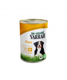 Patè bio per cani Yarrah