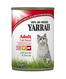 Bocconcini bio per gatti Yarrah