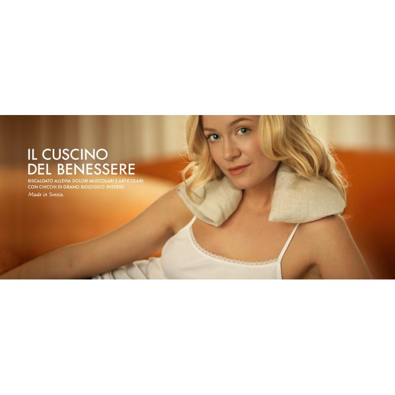 Scandinavian Blonde Cuscino Del Benessere.Cuscino Del Benessere Scandinavian Blonde