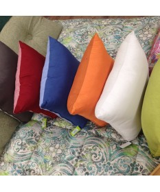 Cuscino divano bicolore Caleffi