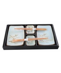 Set per sushi in ceramica Soshun