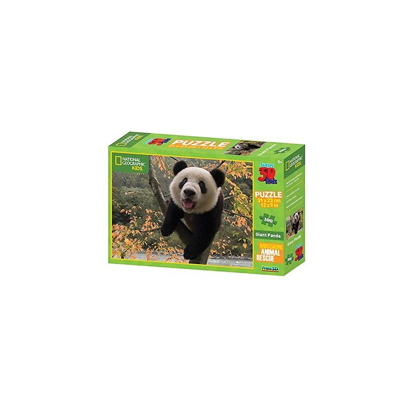 national-geographic-kids-100-pezzi-3d-puzzle-panda