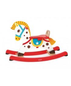 Cavallo a dondolo in legno janod Punchy