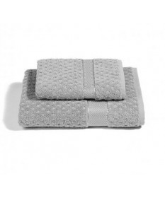 Asciugamani-Caleffi-set-viso+ospite-grigio