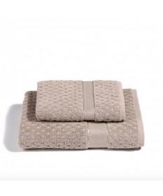 Asciugamani-Caleffi-set-viso+ospite-naturale