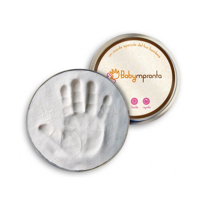 Scatola latta impronta Babympronta