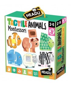 Tactile Animals, Giochi Linea Montessori - HEADU