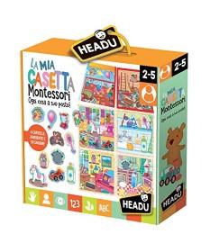 La Mia Casetta, Giochi Linea Montessori - HEADU