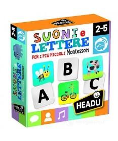 Suoni e Lettere per i più Piccoli, Giochi Linea Montessori - HEADU