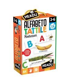 Alfabeto Tattile, Giochi Linea Montessori - HEADU