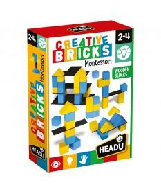 Creative Bricks, Giochi Linea Montessori - HEADU