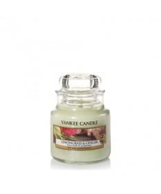Candela Profumata Yankee Candle - Lemongrass e Ginger - giara piccola
