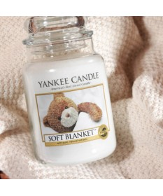 Candela Profumata Yankee Candle - Soft Blanket