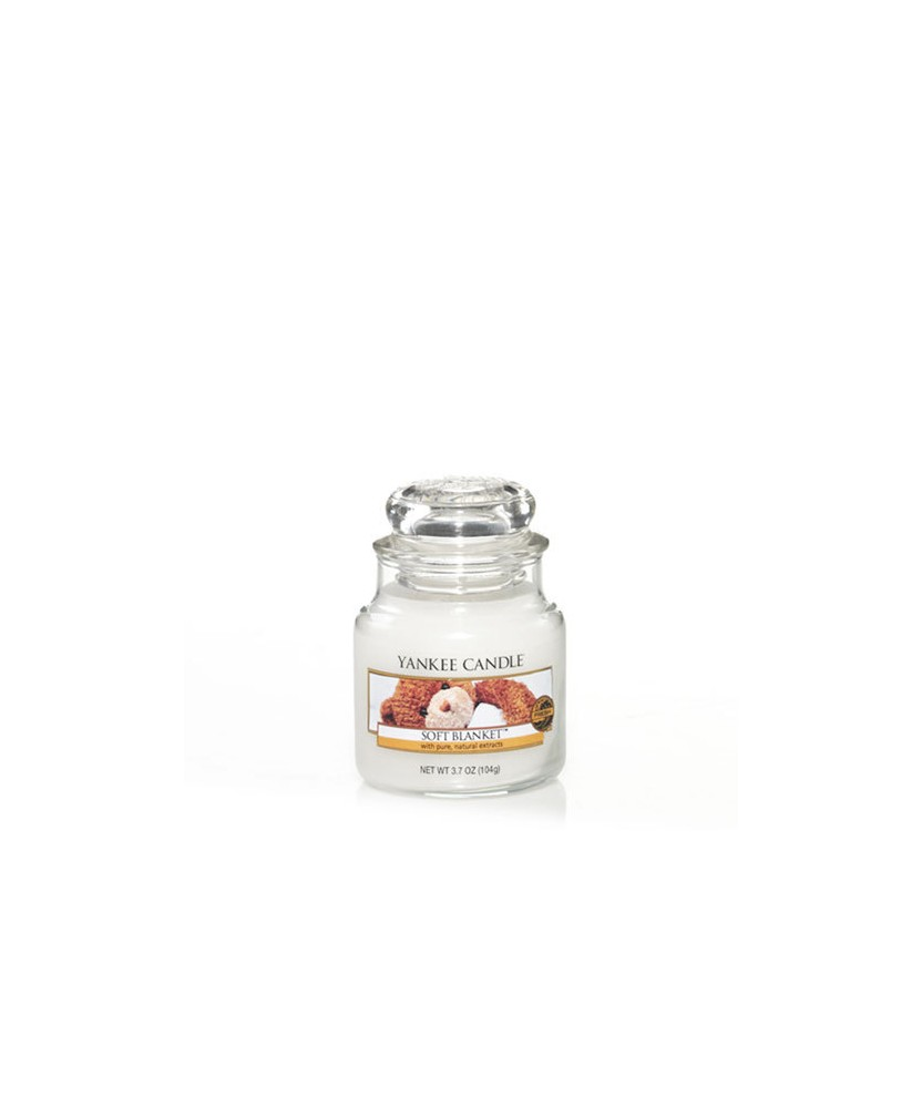 Candela Profumata Yankee Candle - Soft Blanket - giara piccola