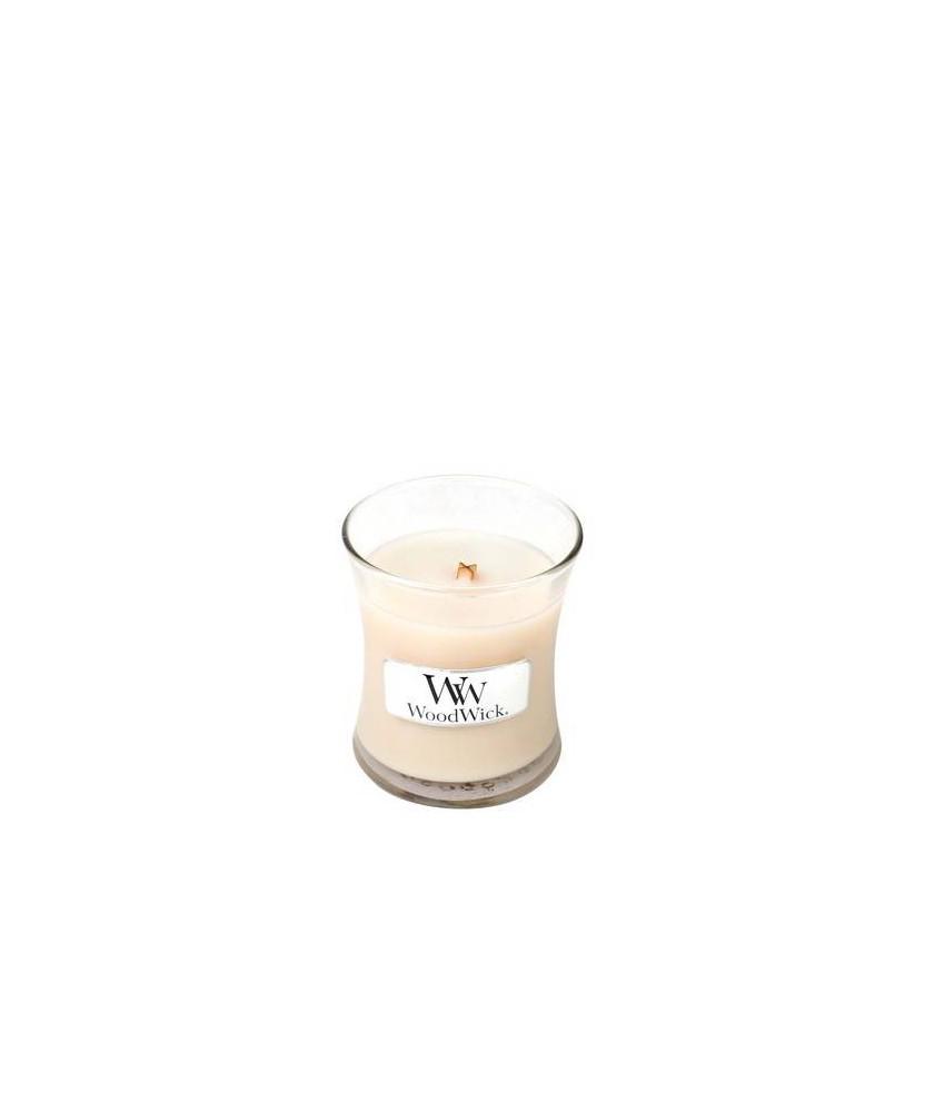 Candela profumata Woodwick - Vanilla Bean - piccola