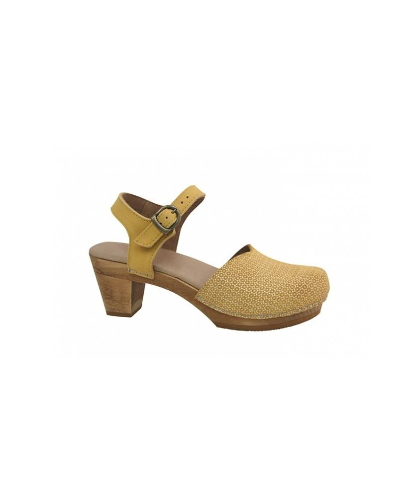 Sandalo Wood Lisa Giallo - Sanita