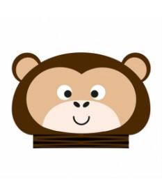 oOBOOK Libro Luminoso Mini Jungle Scimmia - SBAM