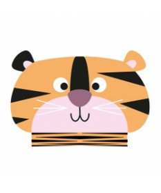oOBOOK Libro Luminoso Mini Jungle Tigre - SBAM