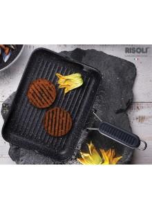 Bistecchiera manico in silicone granito - Risoli