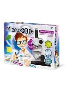 Gioco Educativo Microscopio Ottico  3 Ingrandimenti 15 Esperimenti - BUKI France