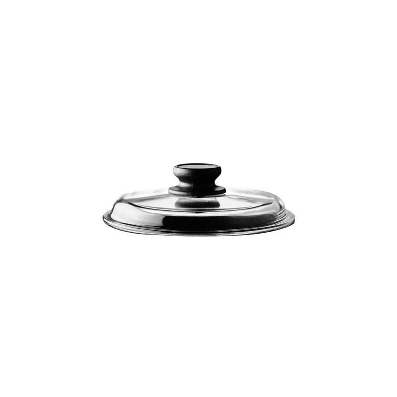 Coperchio con pomolo piatto granito HARD STONE -  Risolì