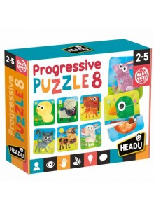 Progressive Puzzle 8  - Headu